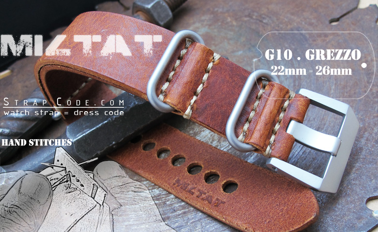 Strapcode March NEW~ MiLTAT Grezzo Zulu watch straps