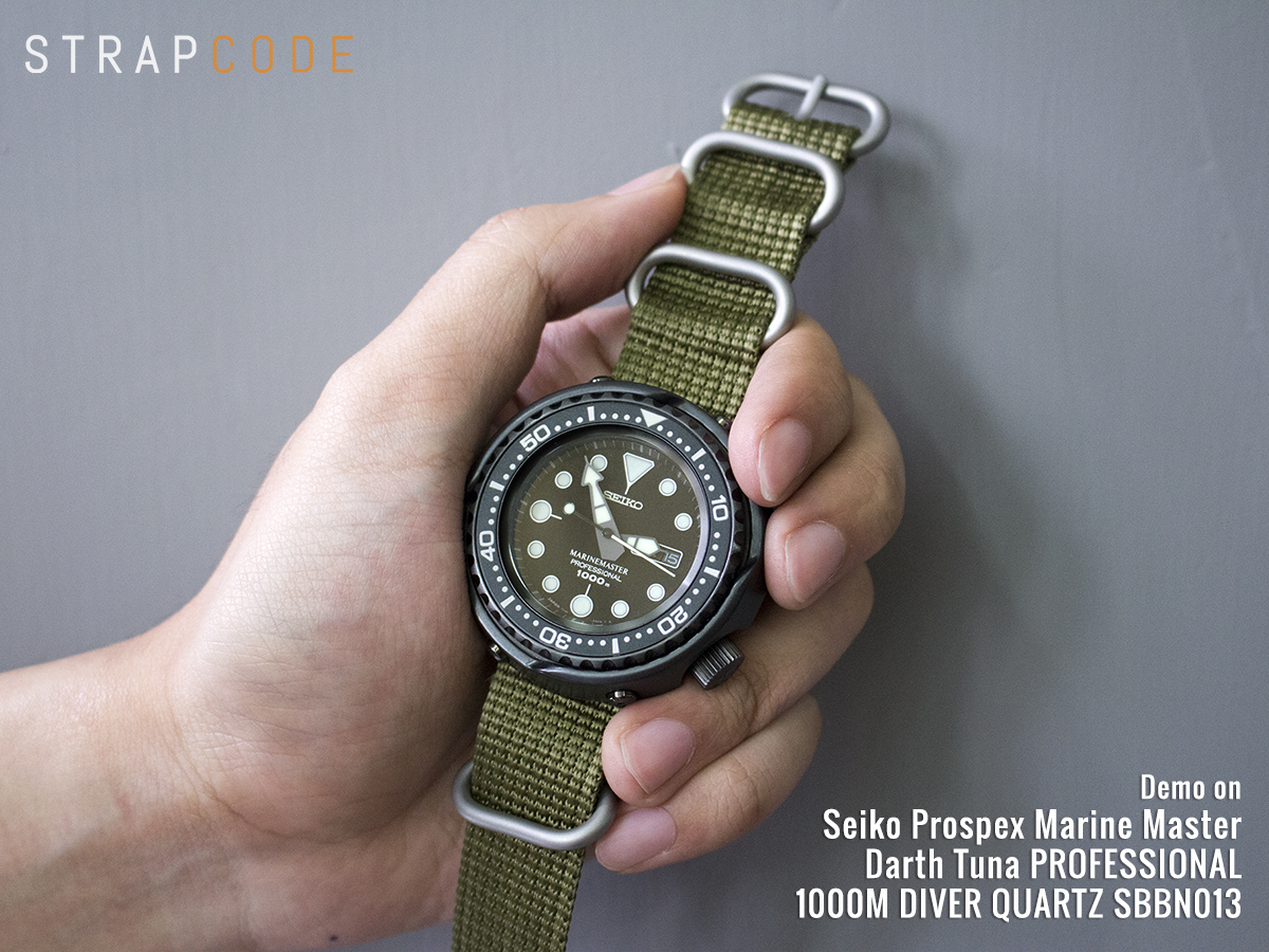 how to put on a zulu strap
