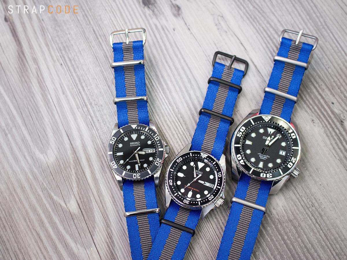 60048ea556e FS  Strapcode SANDWICH NATO G10 Watch Band