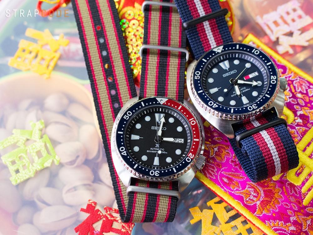 NATO-J15-22B_Seiko-SRP779K1-Pepsi_22A22DZZ00N2P41_Seiko-SRP773K1-Blue