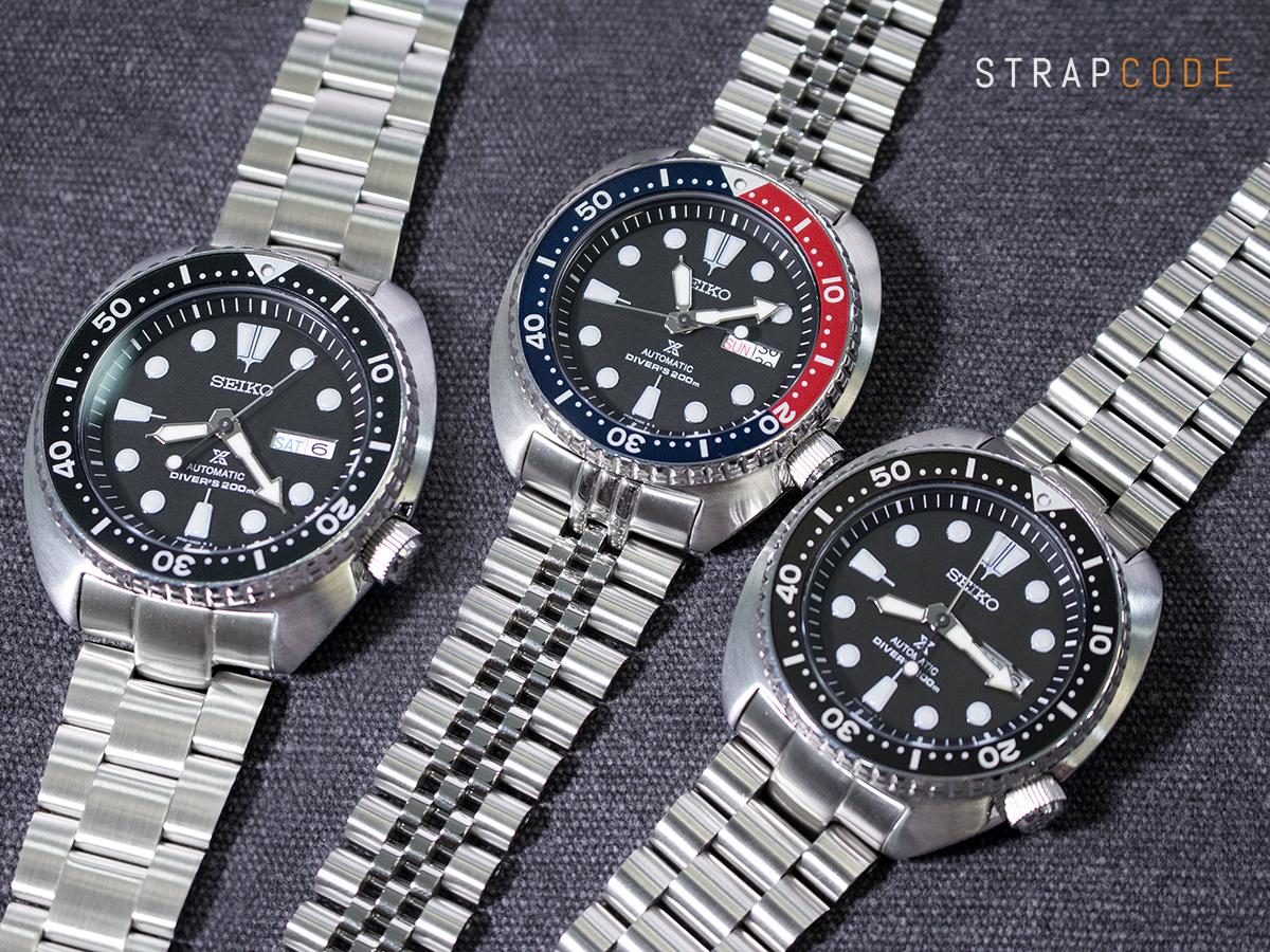 5ddd6302679 FS  Strapcode MiLTAT 316L SS Bracelets for New Seiko Turtles