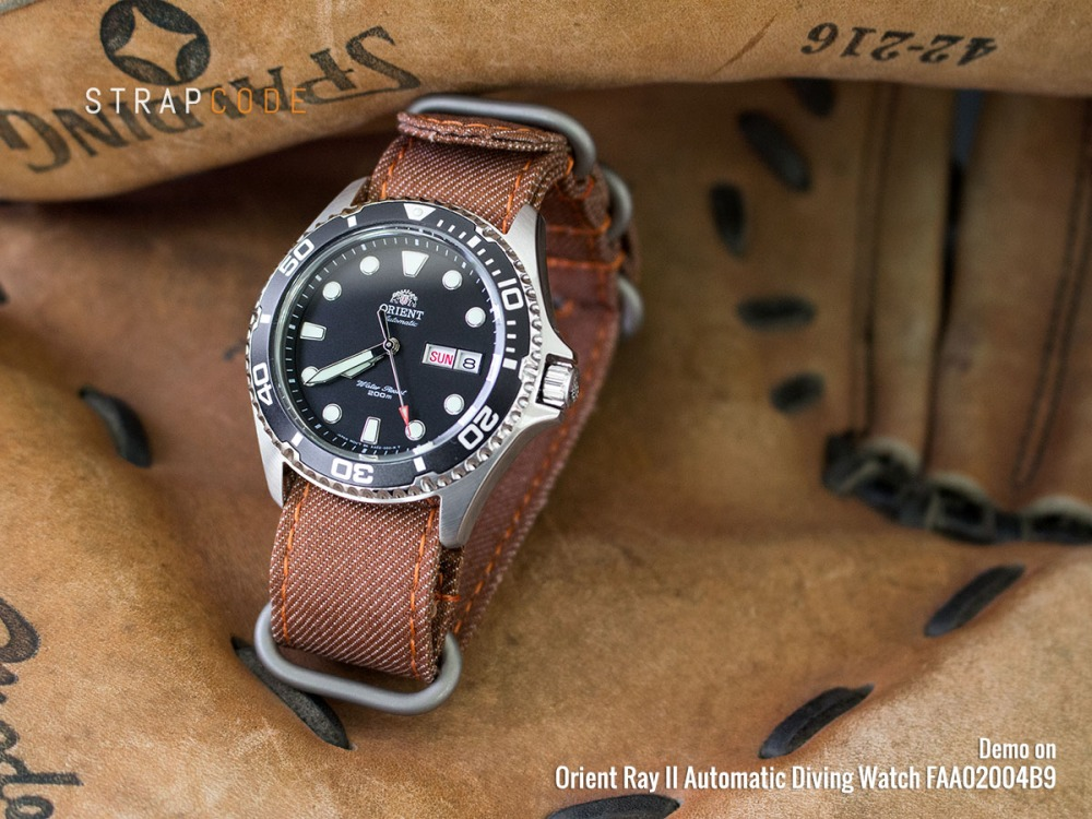 What Do You Think Miltat Nato Straps On Orient Ray Ii Automatic
