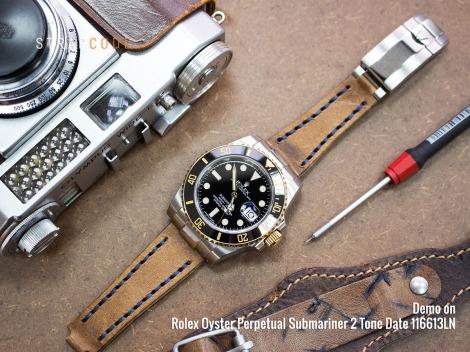 Rolex-Sub-116613LN_all_straps