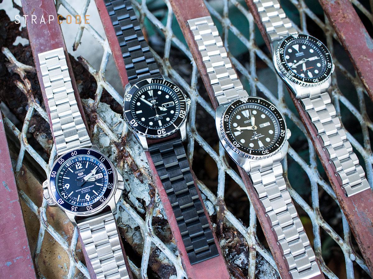 3b0cec6ae88 FS  Strapcode MiLTAT HEXAD Oyster Watch Bracelets