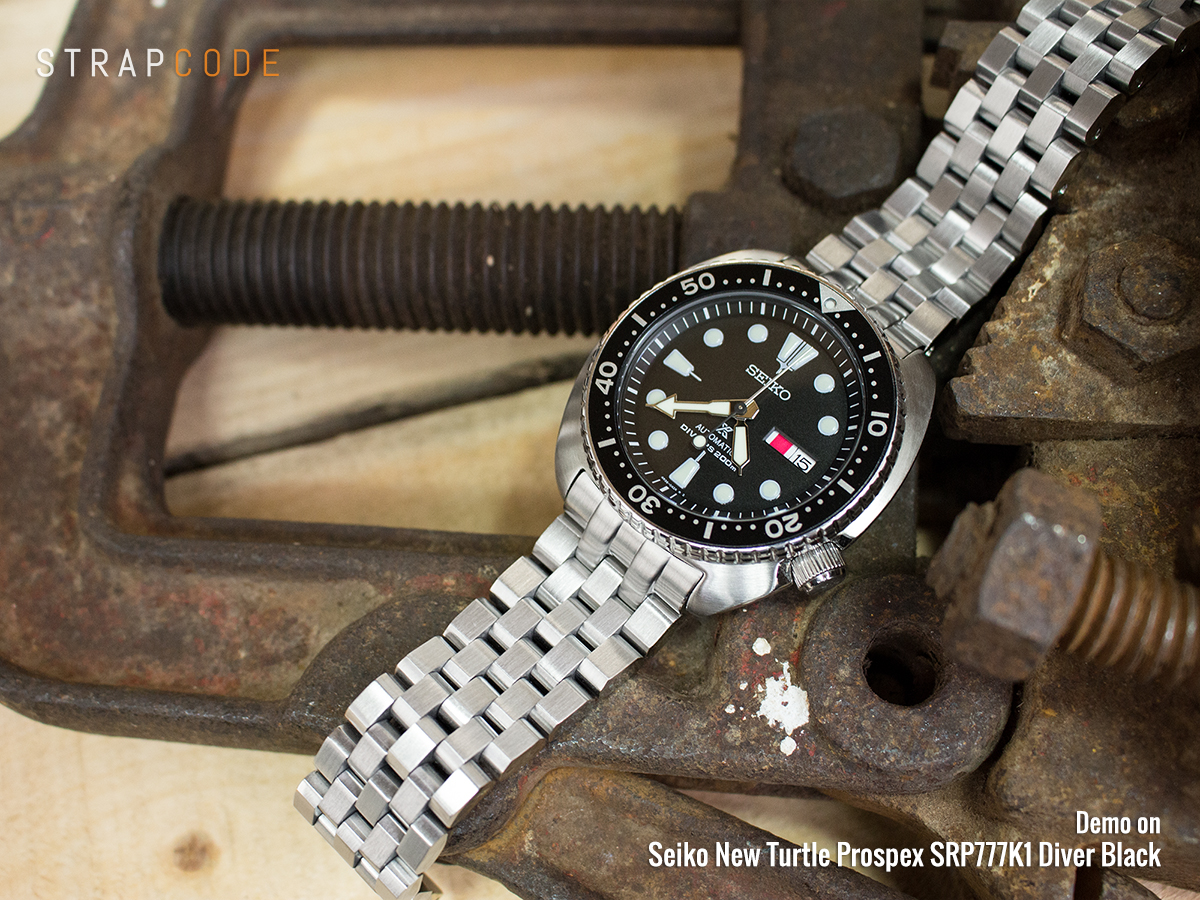 c80de0e4485 22mm Super Engineer II 316L Stainless Steel Watch Bracelet for Seiko New  Turtles SRP777   PADI SRPA21
