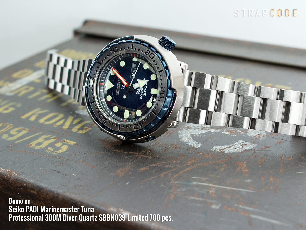 best website 153b2 91db2 Strapcode — Does it look the part?! Seiko PADI Marinemaster...