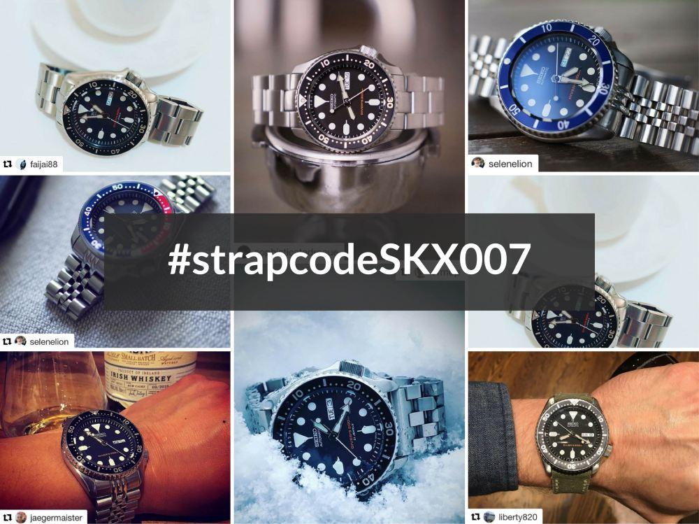 #strapcodeSKX007-01