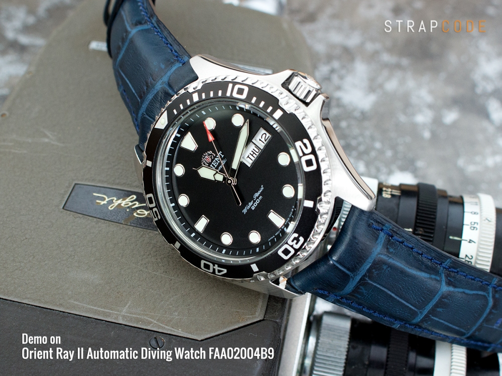 6 Ways To Present Your Orient Ray Ii Beyond The Regular Strapcode