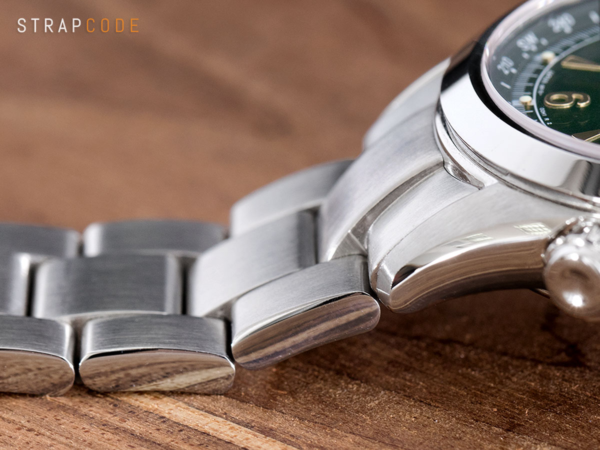 cc905aef860 2.3D Seiko Alpinist – How does it look like  Introduing  MiLTAT 3D Super  Oyster bracelet for Seiko Alpinist.