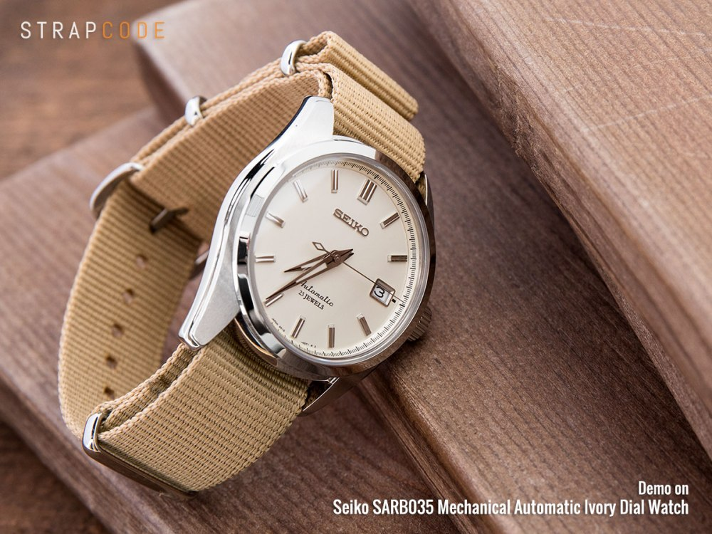 Undressing The Dress Watch Seiko Sarb035 Strapcode