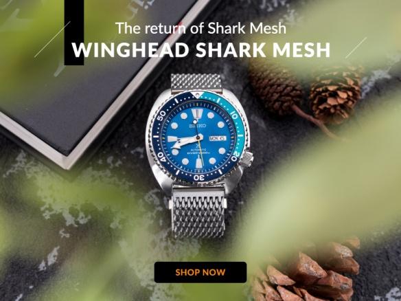 todella söpö katsella uusi korkea The return of Shark Mesh – Winghead Shark Mesh   Strapcode