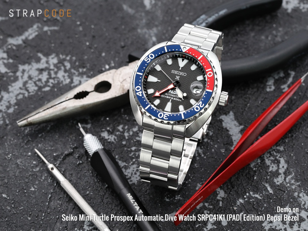 Seiko Mini-Turtle SPRC41K1 (PADI Edition)