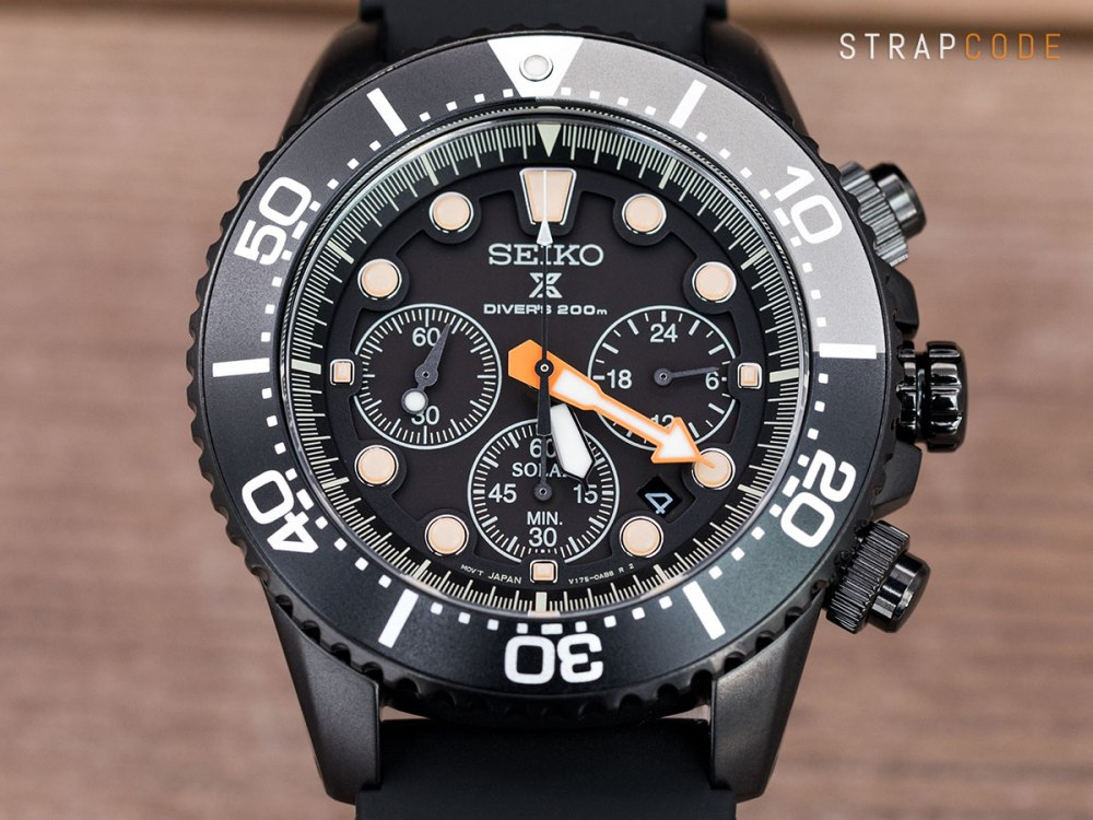 """The allure of the all black diving watch – Seiko """"Black Series"""