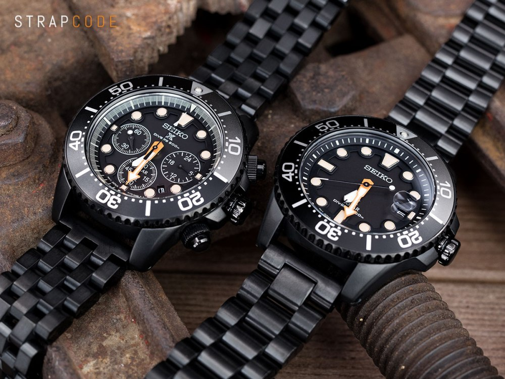 "9b713e2a479 The allure of the all black diving watch – Seiko ""Black Series ..."
