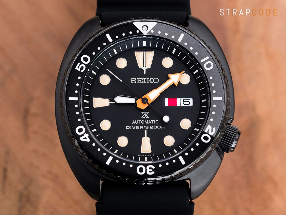 The All Black Style Of The Seiko Black Series New Turtle