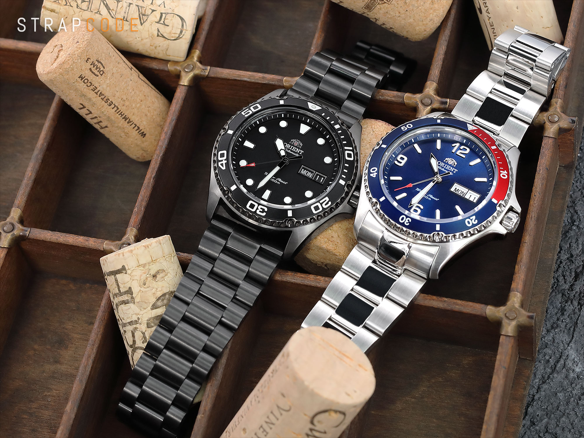 Never too late to be a goal-oriented person! ORIENT Ray II & Mako II