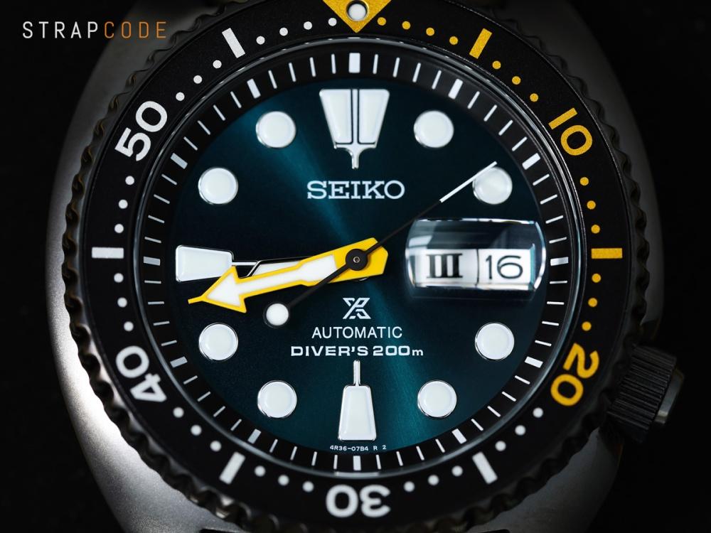 "Seiko's Limited Edition Okinawa ""SEA GRAPE"" Turtle SRPD45K1"