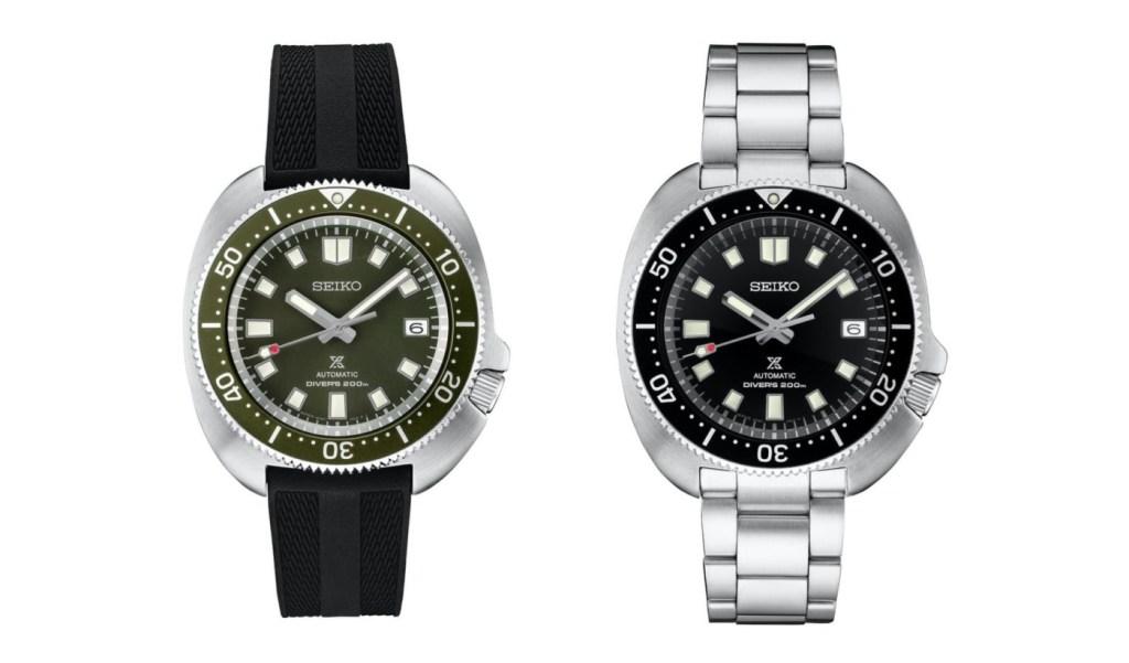 strapcode watch bands Seiko Prospex SPB153 (left) and SPB151