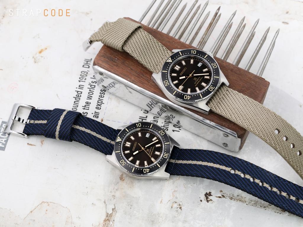 strapcode watch bands 2-pcs Nylon Watch Band