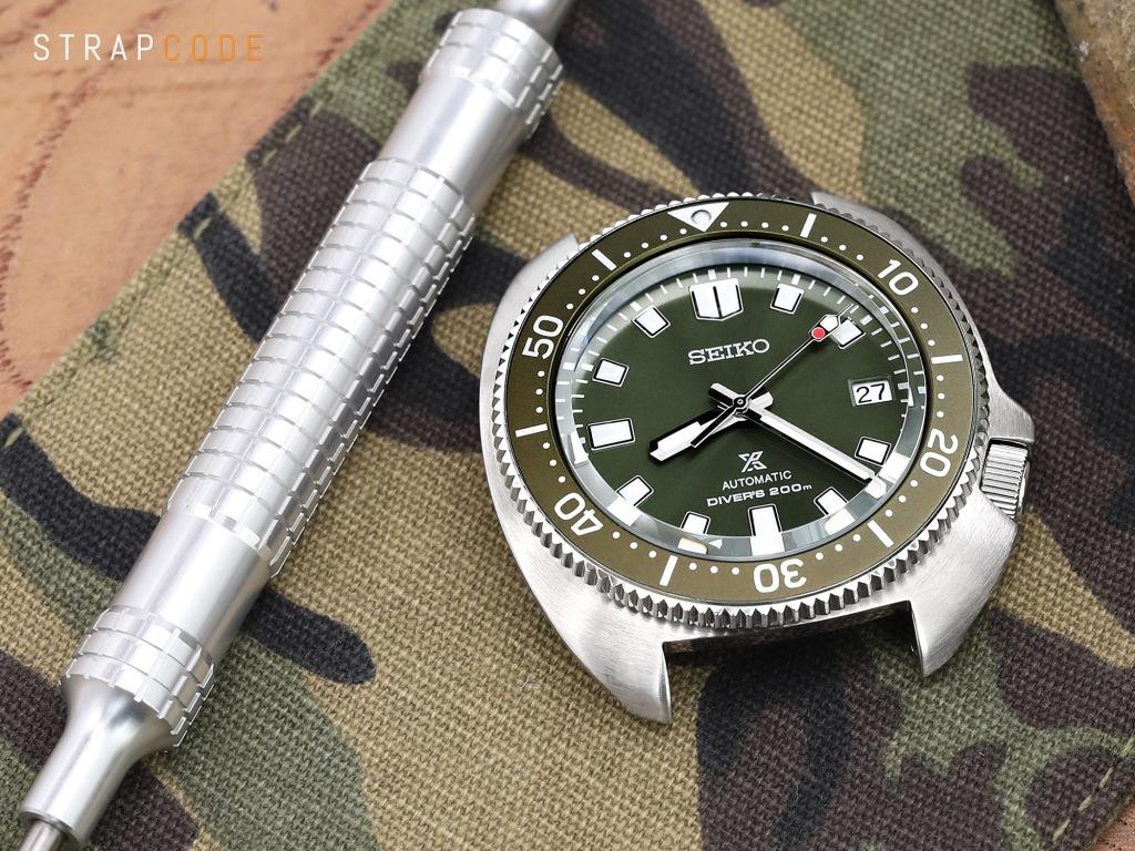 strapcode watch bands Seiko Prospex 'Captain Willard' Reissues SPB153 Diver Watch