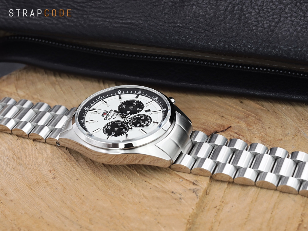 strapcode watch bands ss221820b060_orient-panda-chrono