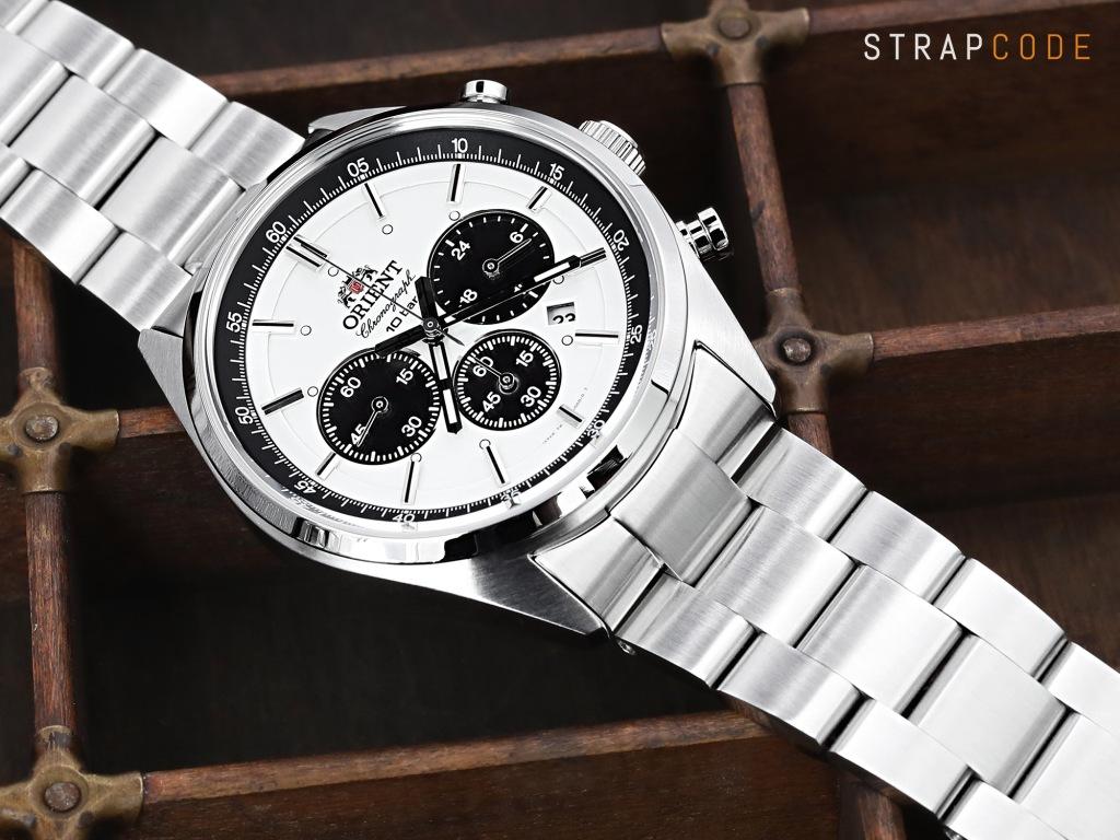 strapcode watch bands ss221820b061_orient-panda-chrono